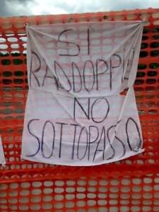 Raddoppio Pistoia-Lucca. La protesta