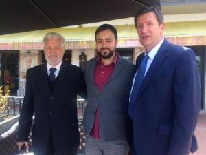 Prestanti con il sindaco uscente di Carmignano e quello di Poggio a Caiano