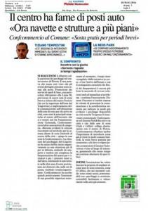 Nota stampa Confcommercio, 28/5/2016, La Nazione