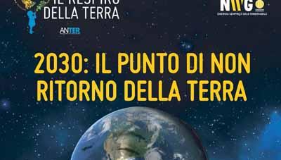 2030, IL PUNTO DI NON RITORNO DELLA TERRA