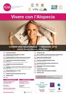 Convegno nazionale Vivere con l'Alopecia