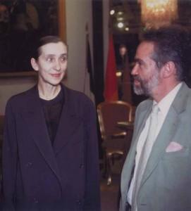 Neumann con Pina Bausch all'Opera di Roma nel 1987