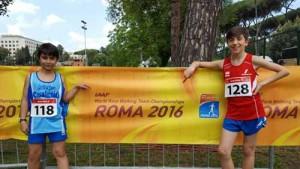 L'Atletica Casalguidi a Roma