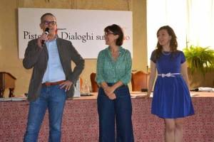 Luca Iozzelli, Giulia Cogoli e Francesca Bechini