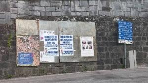Manifesti a Cutigliano