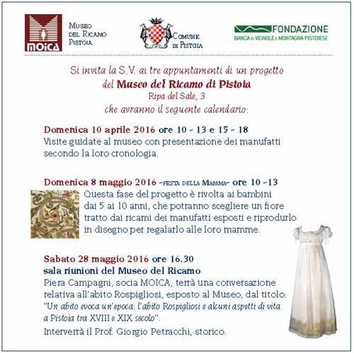 FESTA DELLA MAMMA AL MUSEO DEL RICAMO