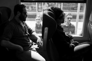 La compagnia degli Omini sul treno [Duccio Burberi]