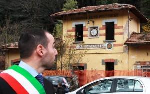 Samuele Bertinelli a Pracchia