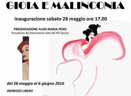 arte. «GIOIA E MALINCONIA», SECONDO ISPIRAZIONE