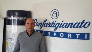 David D'Agostino presidente Confartigianato Trasporti Pistoia