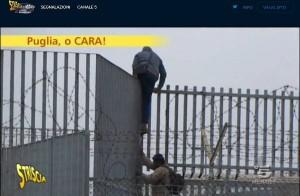 Cara di Bari, servizio Striscia la notizia