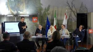 La conferenza stampa a Firenze del Progetto T con Rotelli, Ceccarelli, Barni, Bertinelli e Sacchettini