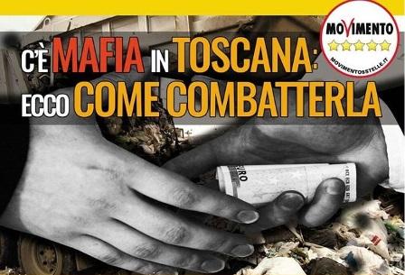 "carmignano-m5s. A SEANO ""C'È MAFIA IN TOSCANA"""