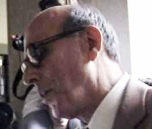 Vasco Gaiffi al momento di andare in pensione