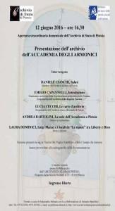 12 giugno 2016 - Accademia degli armonici