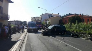 L'incidente in via Montalese