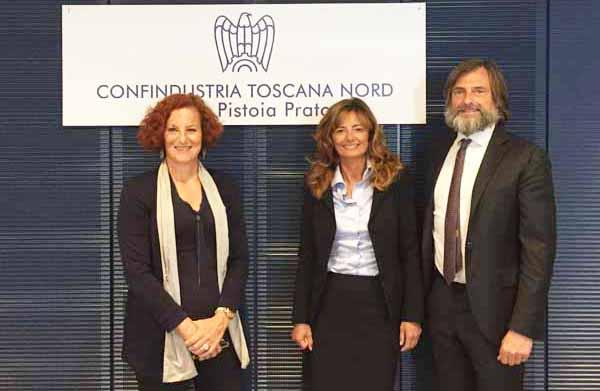 CONFINDUSTRIA TOSCANA NORD, IERI L'INSEDIAMENTO