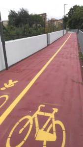Il nuovo tratto della pista ciclopedonale è dedicato a Ballerini