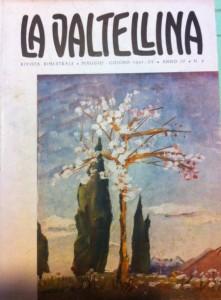 La valtellina, rivista su cui ha scritto Maya [coll. Giovanni Tronci]