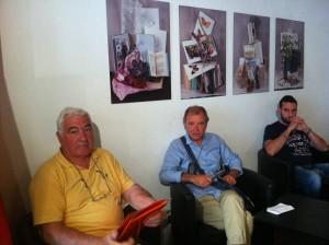 Luciano Marcacci, Antonio Sessa e Marco Nesti