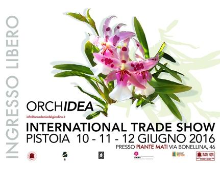 """""""ORCHidea"""", LA PRIMA MANIFESTAZIONE SUL MONDO DELLE ORCHIDEE"""