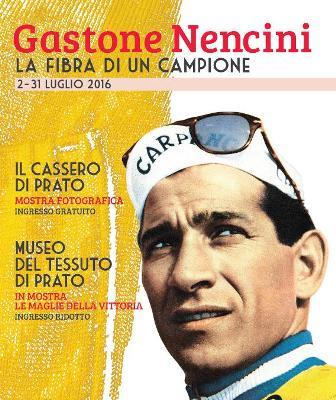 """prato. """"LA FIBRA DI UN CAMPIONE"""", OMAGGIO A GASTONE NENCINI"""