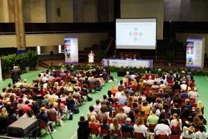La platea al Congresso sull'Alzheimer