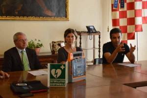 Tina Nuti alla presentazione dell'iniziativa