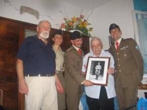 Arturo nel 102° compleanno