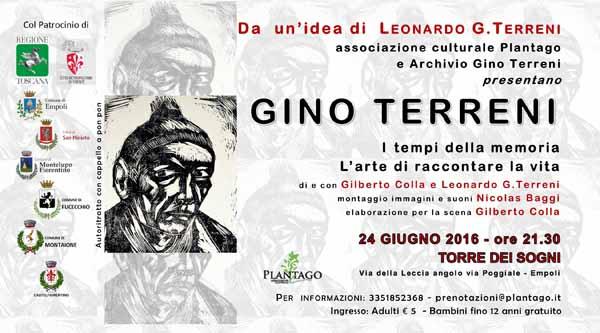 """""""I TEMPI DELLA MEMORIA"""", VITA E OPERE DI GINO TERRENI"""