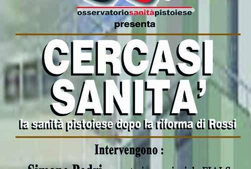 """san[t]ità. """"CERCASI SANITÀ"""", INCONTRO AL CIRCOLO DI PONTENUOVO"""