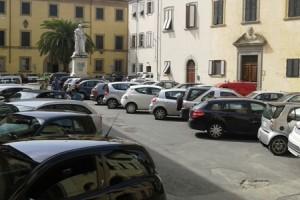 parcheggio in Piazza dello Spirito Santo