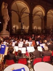 Il concerto in piazza Signoria