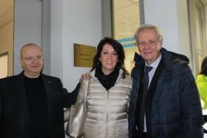 I tre presidenti storici Corrado Artioli, Ilaria Signori e Attilio Barontini