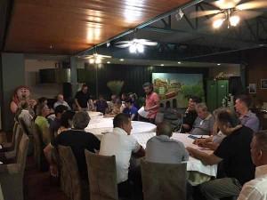 La riunione dei 43 consiglieri comunali