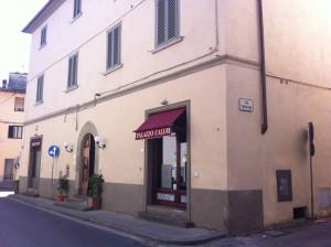 Palazzo Caluri, via Porta S. Marco, appartenuto alla famiglia Gonfiantini