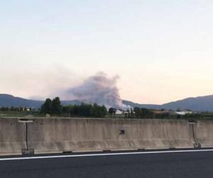Il Cassero in fiamme. 1