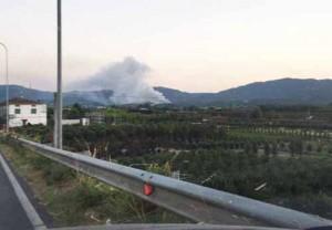 Il Cassero in fiamme. 2
