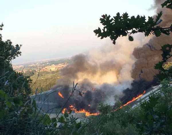 "incendio del cassero. ""THE DAY AFTER"", INTERVIENE MANIGRASSO"