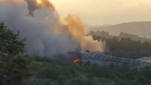 Incendio della discarica del Cassero. 1
