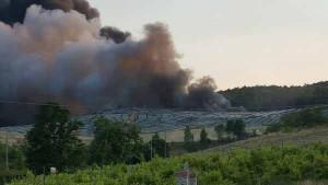 Incendio dela discarica del Cassero. 4