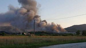 Incendio dela discarica del Cassero. 7