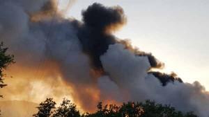 Incendio dela discarica del Cassero. 10