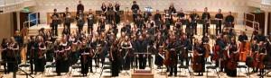 """Gli 85 musicisti della """"West of Scotland Symphony Orchestra"""""""