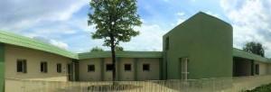 Un'altra immagine dell'edificio di via Lippi