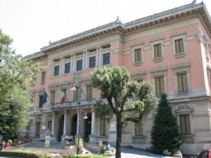 Il palazzo comunale di Montecatini