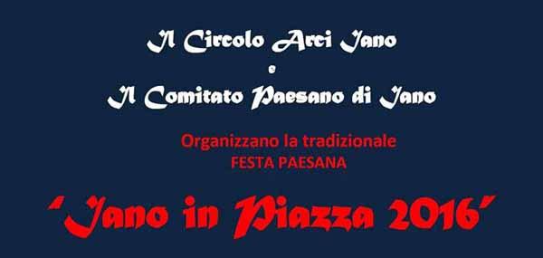"""""""IANO IN PIAZZA"""", CIBO E MUSICA SOTTO LE STELLE"""