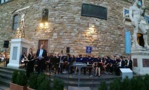 La filarmonica Giuseppe Verdi a Firenze