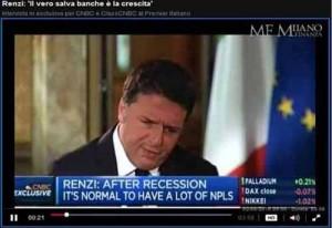 Renzi e le banche