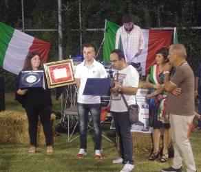 La premiazione a Pieve a Nievole